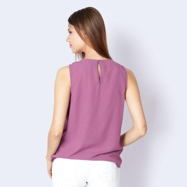 Αμάνικη ασύμμετρη μακριά μπλούζα Mexx