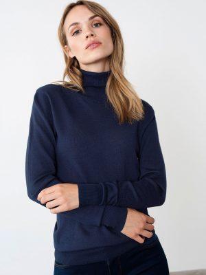 μπλούζα Astrid Kaffe Roll Neck