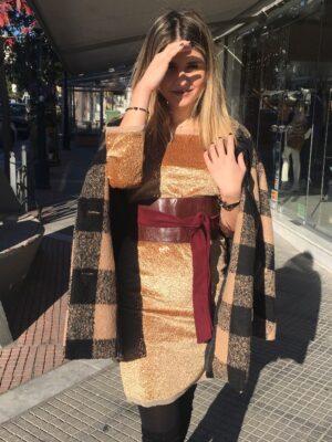 φόρεμα παγιέτα Rinascimento