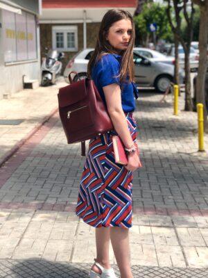 Εβαζέ μίντι φούστα Anika Kaffe