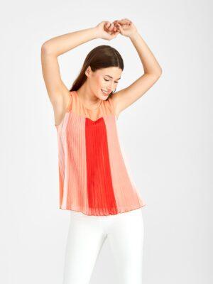μπλούζα Plisse Rinascimento