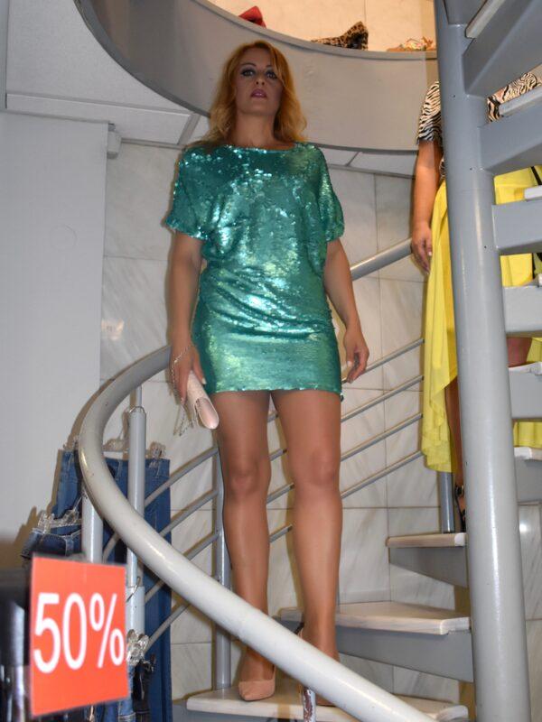 φόρεμα Sequin Rinascimento