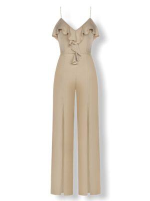 ολόσωμη φόρμα Beige Rinascimento