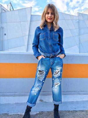 τζιν παντελόνι Pearl Rinascimento