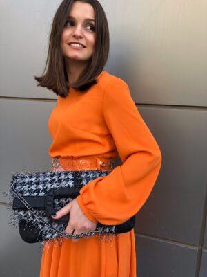 φόρεμα Naranja Rinascimento