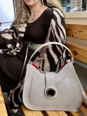 δερμάτινη τσάντα Christine