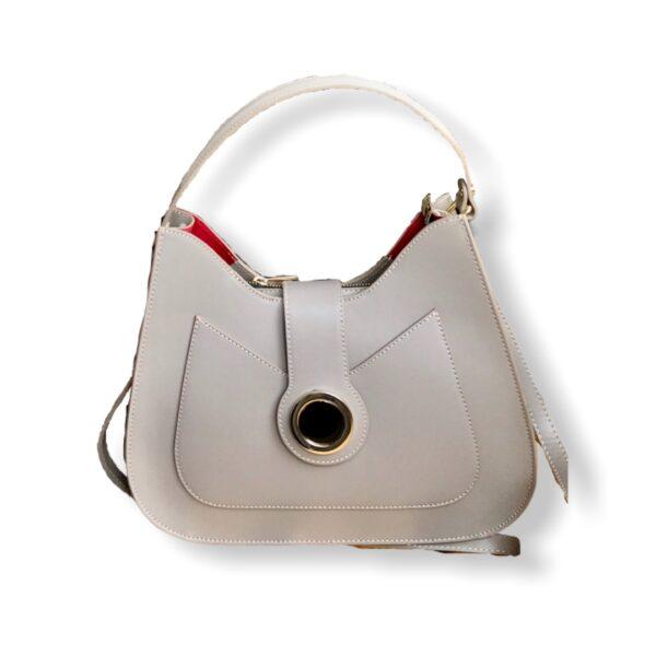δερμάτινη τσάντα Christine Yiasu