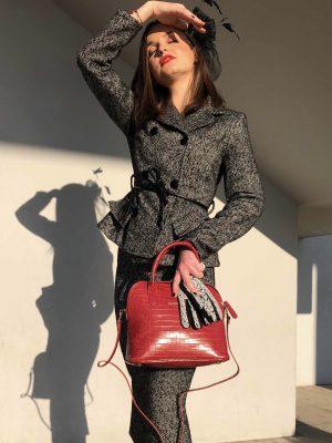 τσάντα κροκό Rinascimento