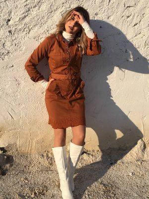 φόρεμα Stacy Cream
