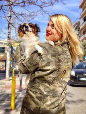 στρατιωτικό τζάκετ Camouflage Cream