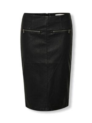 δερμάτινη φούστα Kelly Denim Hunter