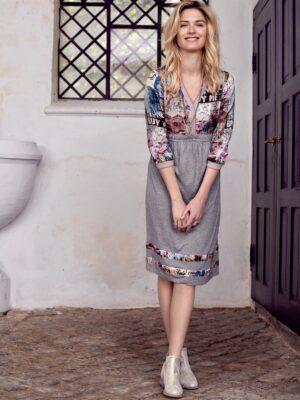 Καθημερινό φόρεμα Elsa Cream