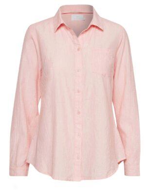 Ροζ γυναικείο πουκάμισο Holly Kaffe