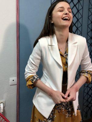 Σακάκι με φερμουάρ Rinascimento