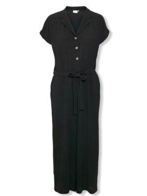 Κοντομάνικη ολόσωμη φόρμα ζιπ κιλότ Kaymma Kaffe