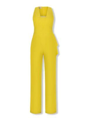 Κίτρινη ολόσωμη φόρμα Rinascimento