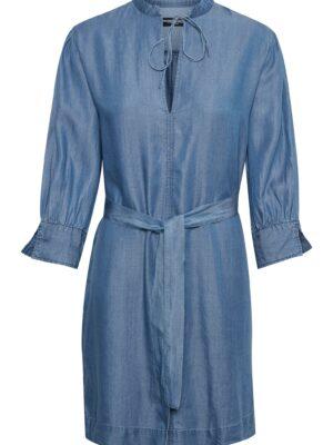 Τζιν φόρεμα με 3/4 μανίκια Dariana Soaked in Luxury