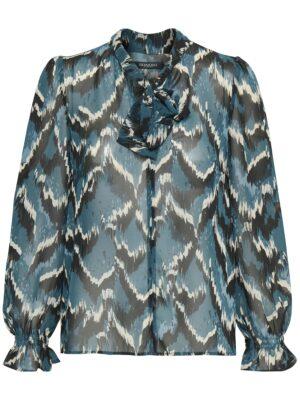 Μπλούζα με φιόγκο στο λαιμό York Soaked in Luxury