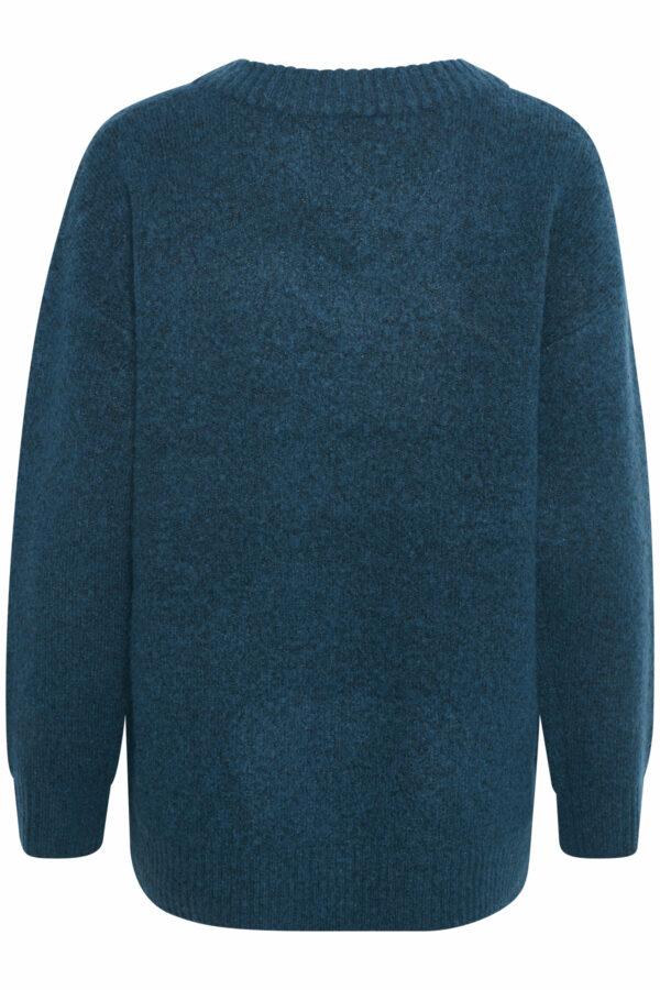 Γυναικείο πλεκτό βε πουλόβερ Geri Kaffe