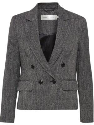 Κοντό γκρι σακάκι από κοστούμι InWear