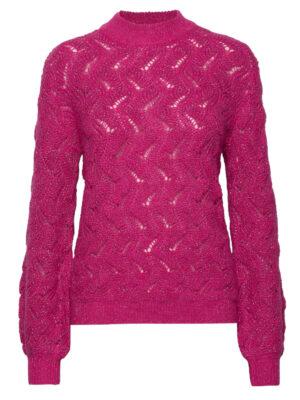 Φούξια γυναικείο πουλόβερ Frida Soaked in Luxury