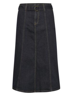 Τζιν μίντι φούστα με ζώνη Tenna Denim Hunter