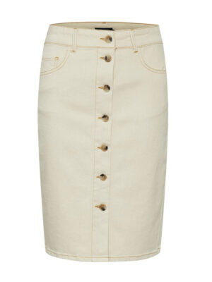Στενή τζιν φούστα με κουμπιά Shani Soaked in Luxury