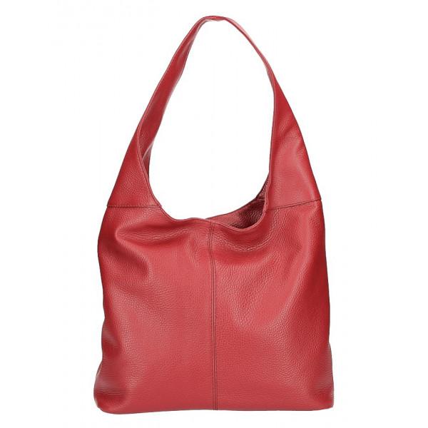 Γυναικεία δερμάτινη τσάντα ώμου Yiasu