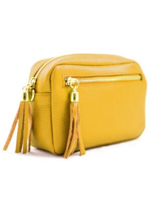 Δερμάτινη τσάντα χιαστί Yiasu