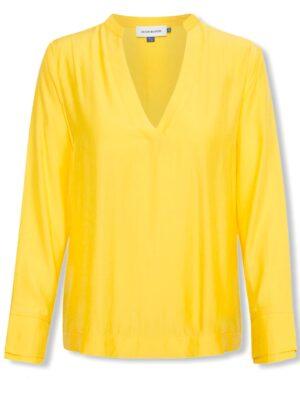 Κίτρινη μακρυμάνικη μπλούζα Napoli Denim Hunter