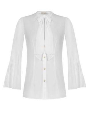 Γυναικείο λευκό πουκάμισο Rinascimento