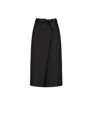 Μαύρη εβαζέ φούστα Rinascimento