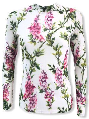 Μακρυμάνικη φλοράλ μπλούζα Fernanda Kaffe
