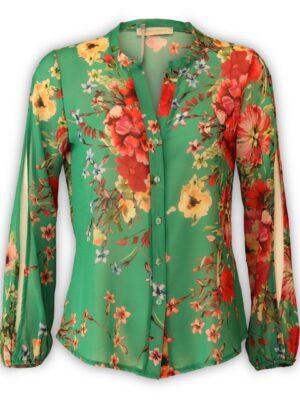 Γυναικείο φλοράλ πουκάμισο Rinascimento