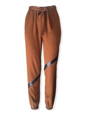 Γυναικείο παντελόνι με λάστιχο Rinascimento