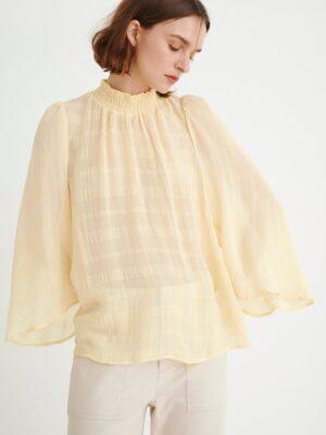 Απαλή κίτρινη ελαφριά μπλούζα Reo InWear