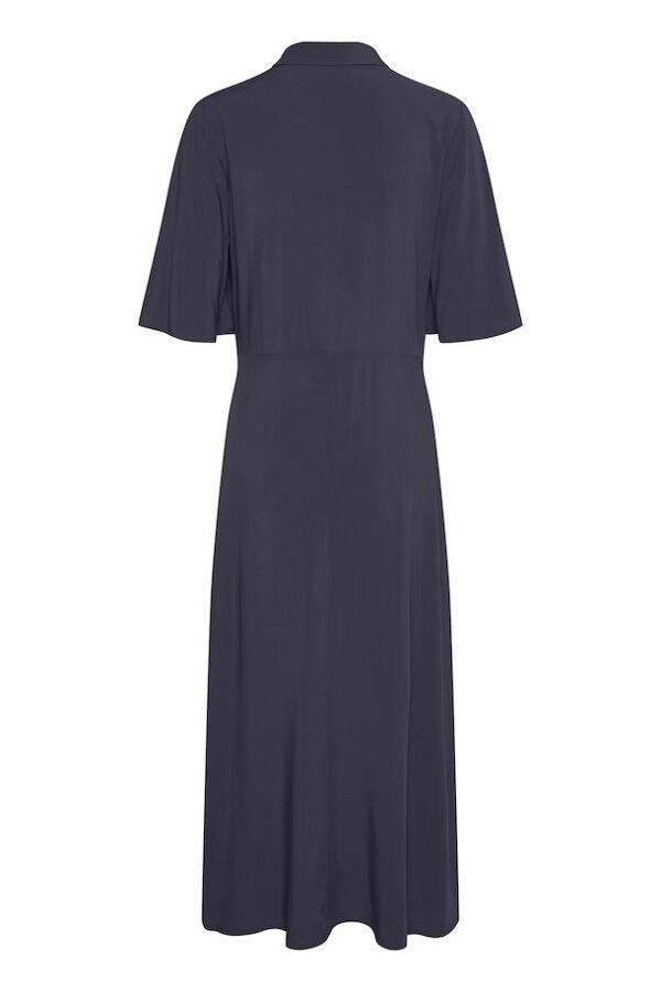 Μακρύ κοντομάνικο σεμιζιέ φόρεμα Olivine Soaked in Luxury