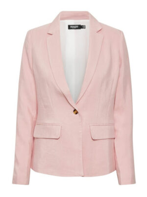 Γυναικείο ροζ λινό σακάκι Odell Soaked in Luxury