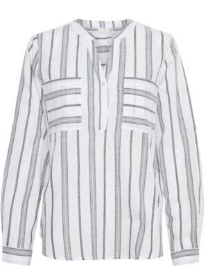 Γυναικεία ανάλαφρη ριγέ πουκαμίσα Sandy Kaffe