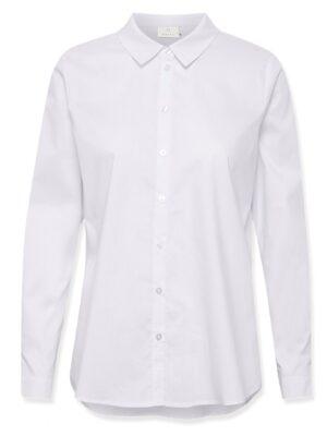 Λευκό βαμβακερό γυναικείο πουκάμισο Scarlet Kaffe