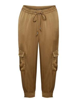 Γυναικείο χρυσό κάργκο παντελόνι Kaisha Kaffe
