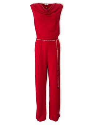 Κόκκινη ολόσωμη φόρμα Kitana by Rinascimento