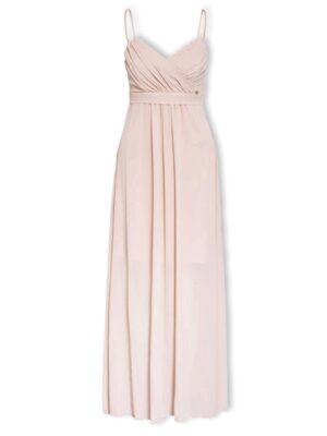 Μάξι φόρεμα ζορζέτα με μπούστο Rinascimento