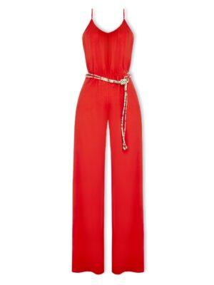 Κόκκινη ολόσωμη φόρμα Rinascimento