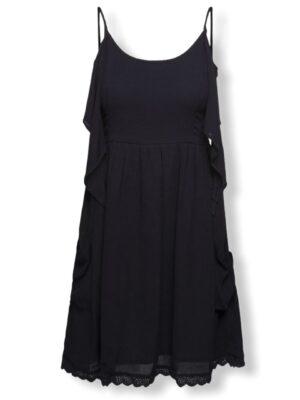 Μαύρο καλοκαιρινό φόρεμα Faith Desires