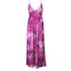 Μάξι φόρεμα τρόπικαλ Rinascimento