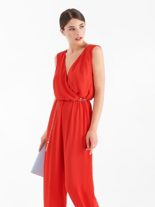 Κρουαζέ ολόσωμη φόρμα κόκκινη Rinascimento