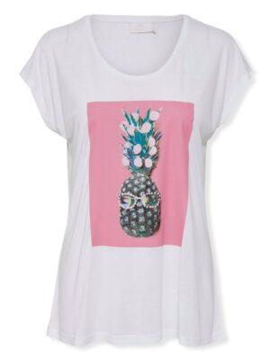 Γυναικείο t-shirt Pineapple Kaffe