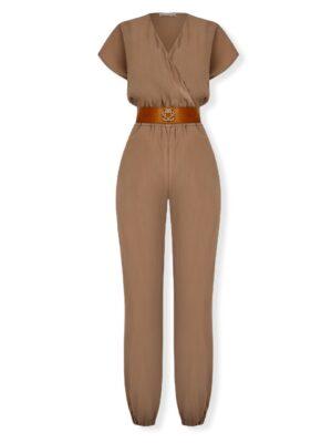 Μπεζ κρουαζέ ολόσωμη φόρμα Rinascimento