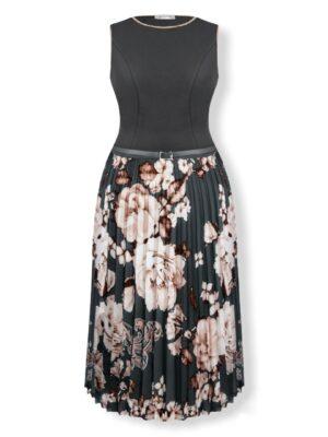 Πλισέ φόρεμα plus size Kitana by Rinascimento